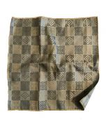 Chess Board Pattern Pocket Square