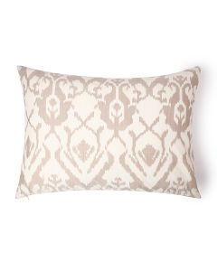 Tulip Cream 20X26 Cotton Silk Ikat Sham