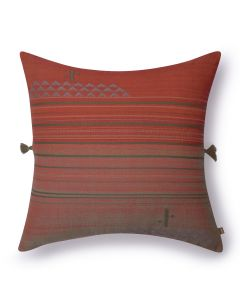 Nubia Earthy red Cushion Cover