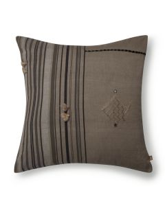 Camel Charcoal Cushion Cover